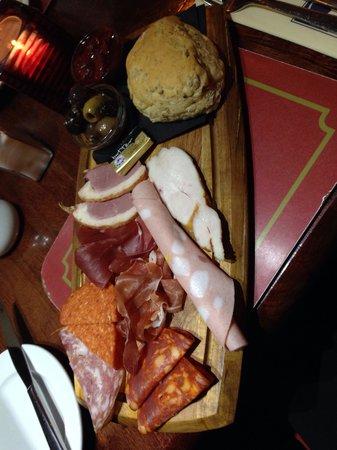 The Swan Inn: Anti pasta starter