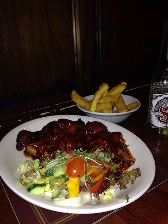 The Swan Inn: BBQ ribs