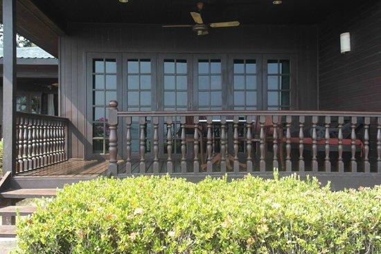 Century Langkawi Beach Resort: Veranda of our room