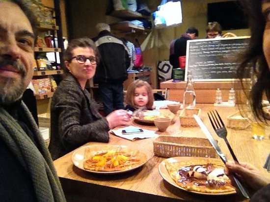Breizh Cafe : La nostra tavola....