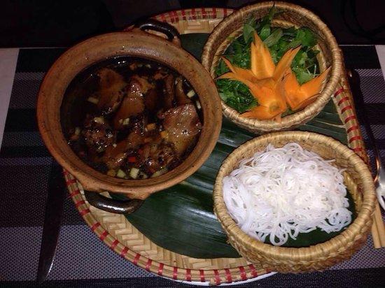 The Gourmet Corner Restaurant: The best Bun Cha I've tasted.