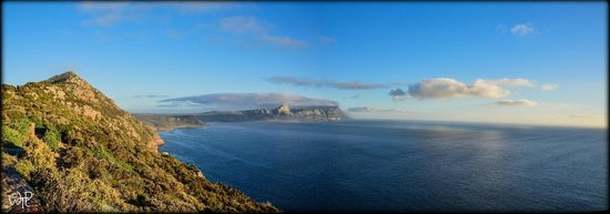 Cape of Good Hope: View of False Bay from the Light House