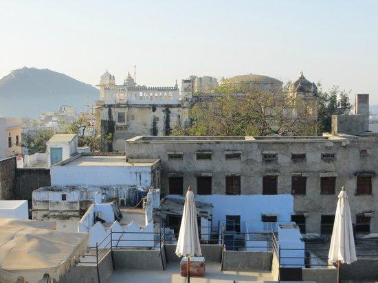 Madri Haveli: vue depuis le roof top