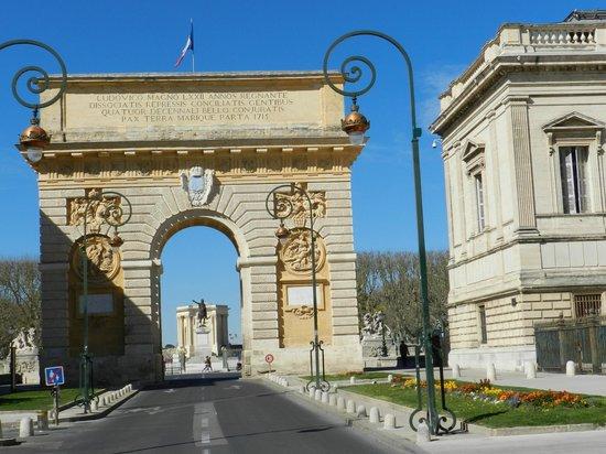 Porte du Peyrou : arco di trionfo