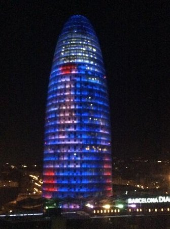Novotel Barcelona City: View from our bedroom