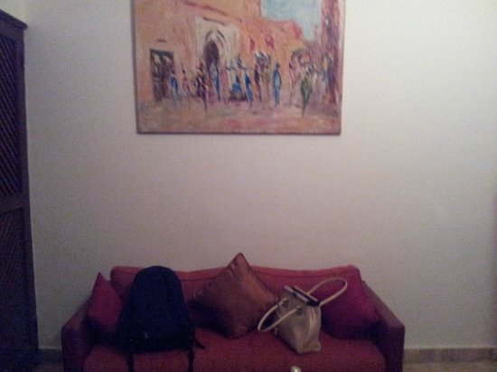 Riad Nasreen : Our room