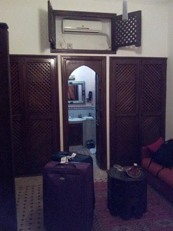 Riad Nasreen: Our room