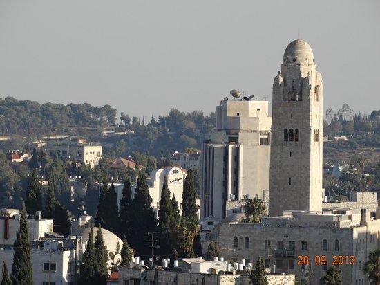 Jerusalem Tower Hotel: Вид из номера на старый Ерушалаим