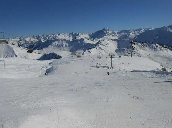 Kinderbauernhof Felder : Le Diedamskopf et ses pistes de ski