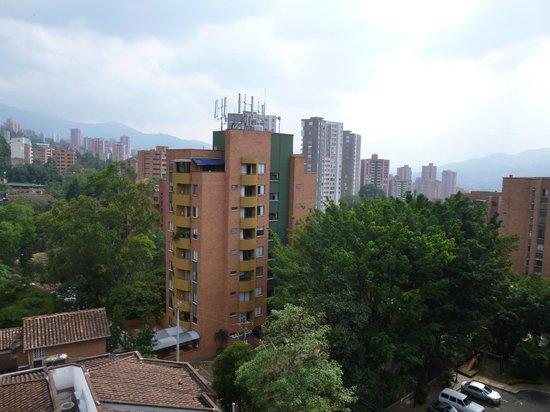 Hotel Sky Medellin: Blick aus dem Zimmer