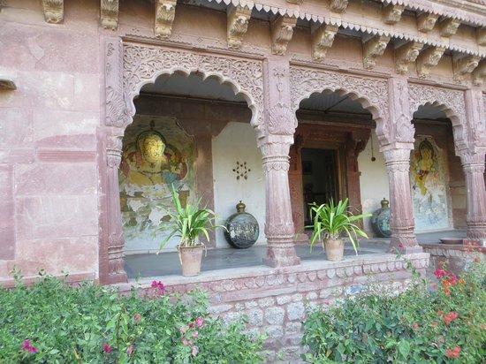 Chandelao Garh : ancienne haveli