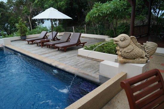 Q Signature Samui Beach Resort: Private Sun Deck