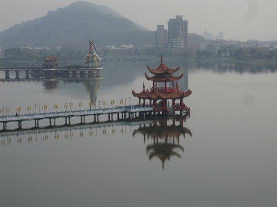 Wuliting: vue de la pagode