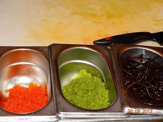 Shila - Sharon Cohen's Kitchen & Bar: Икорка