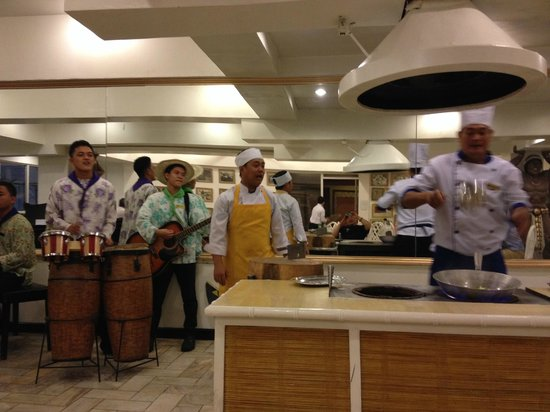 The Singing Cooks & Waiters : 店内