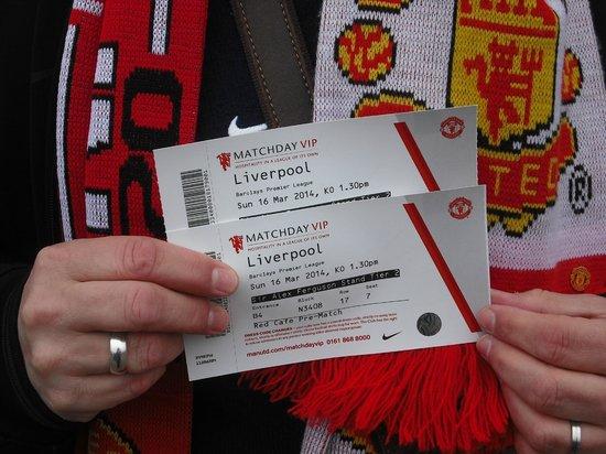Man Utd Red Cafe Tickets