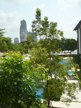 ibis Bangkok Riverside : vue depuis la chambre