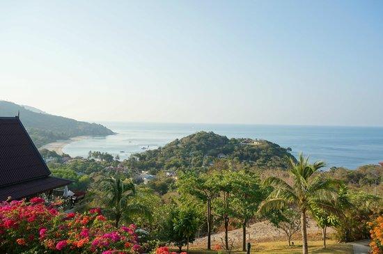Baan KanTiang See Villa Resort (2 bedroom villas): View from villa