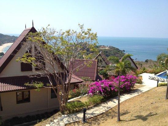 Baan KanTiang See Villa Resort (2 bedroom villas): inside the resort