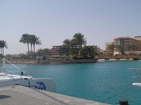 Hurghada Marriott Beach Resort: Beach area