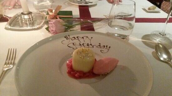 Summer Lodge: Birthday meal