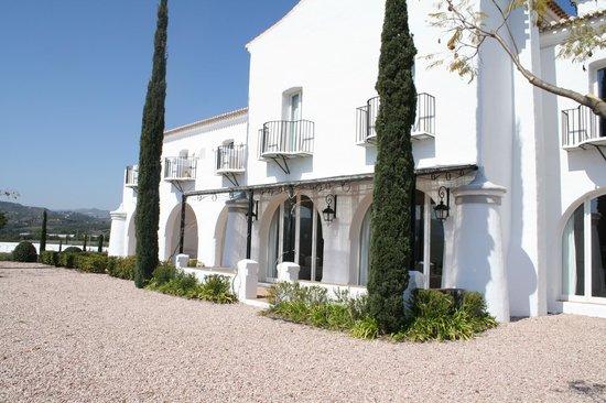Hotel Cortijo Bravo : Bagside