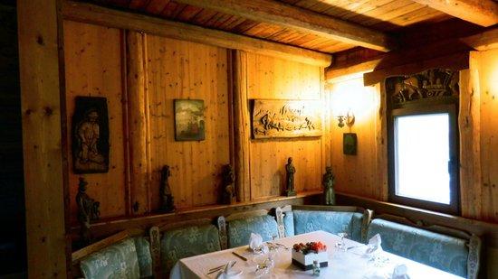 Il Vecchio Granaio: Vista sala pranzo interna