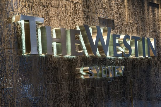 The Westin Sydney: Outside the main entrance