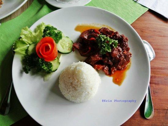 Sarinande Hotel: food