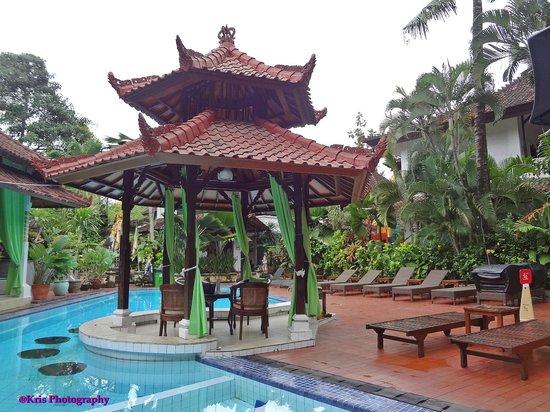 Sarinande Hotel: kolam renang