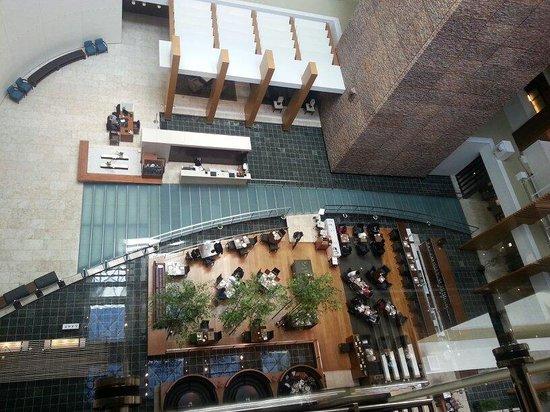 The Strings by InterContinental Tokyo : Very nice lobby