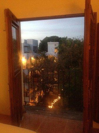 El Meson del Marques: Vista balcone