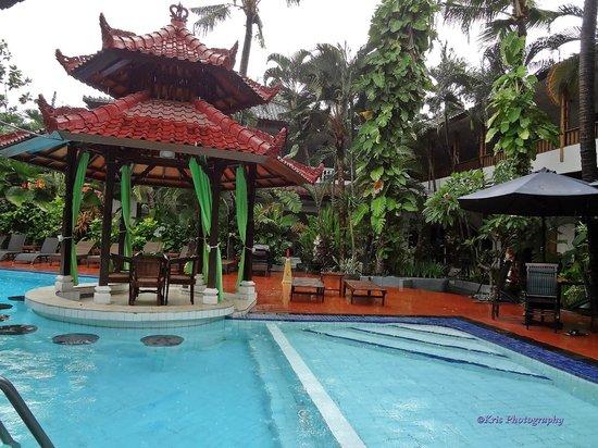 Sarinande Hotel : kolam renang