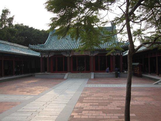 Koxinga Shrine: cour intérieure