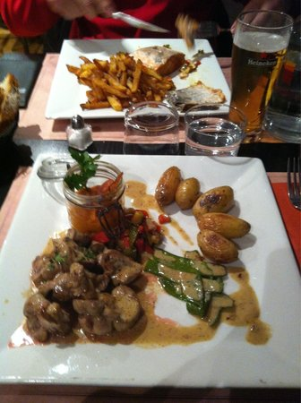 La Cantina San Subra : Rognons au muscat