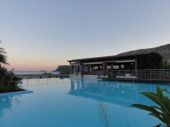 AquaGrand Exclusive Deluxe Resort : Vy från restaurangen