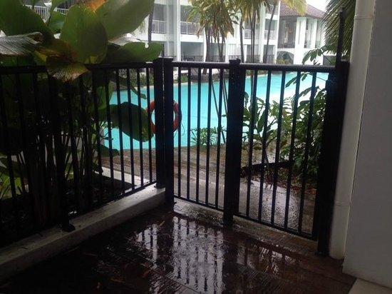 Peppers Beach Club Port Douglas: Balcony
