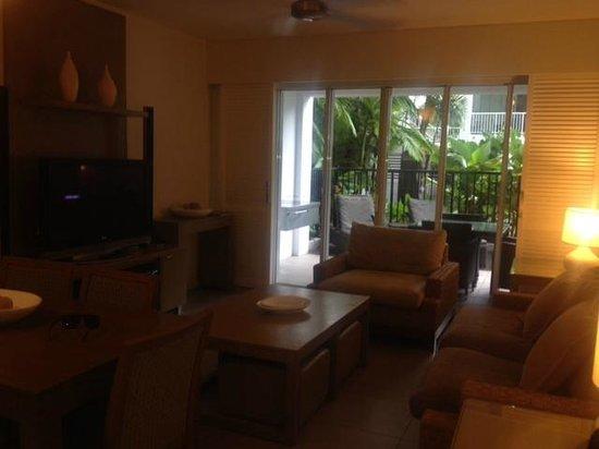 Peppers Beach Club Port Douglas: Lounge area