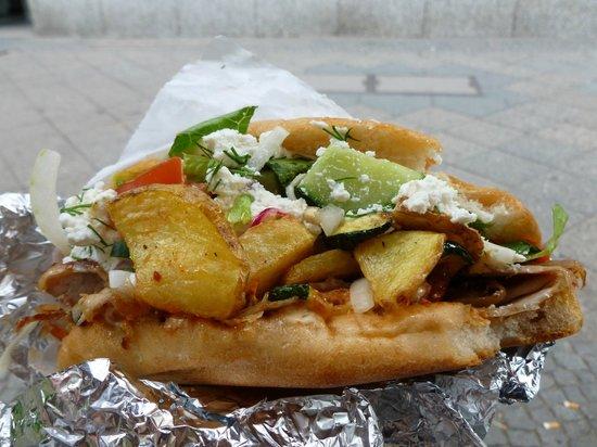 Mustafa's Gemüse Kebab: Kebab