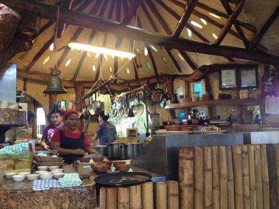 La Cueva del Chango : Cucina a vista