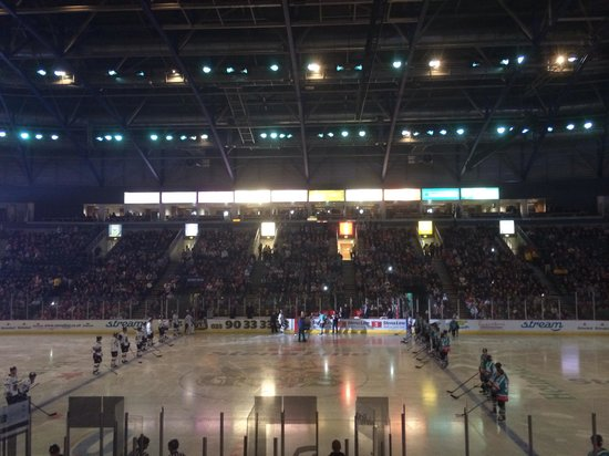 The SSE Arena: Giants game