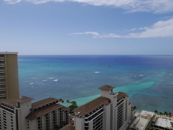 Trump International Hotel Waikiki: ラナイからの風景
