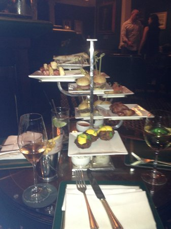 The Chesterfield Mayfair: Great bar food as well!
