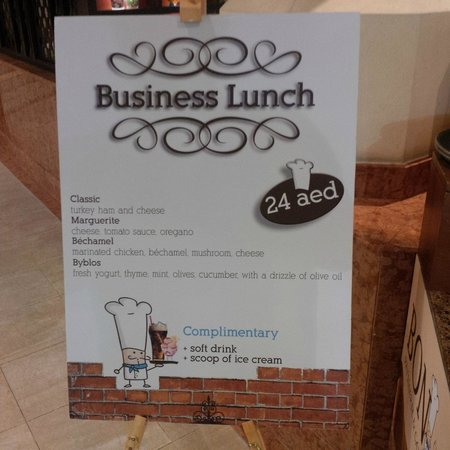 Bon Cafe: business lunch