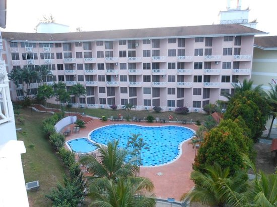 Lotus Desaru Beach Resort: A SNAP FROM OUR BALCONY