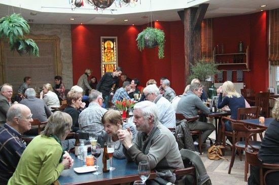De Volksabdij: Het restaurant
