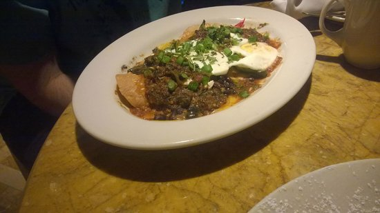 Grand Lux Cafe: Huevos Rancheros