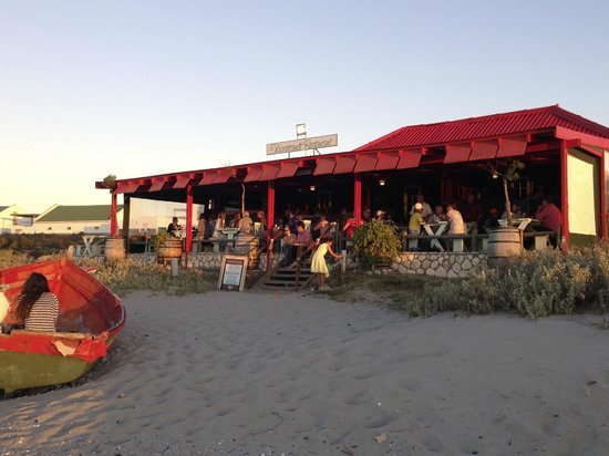 Voorstrandt buzzing at sunset
