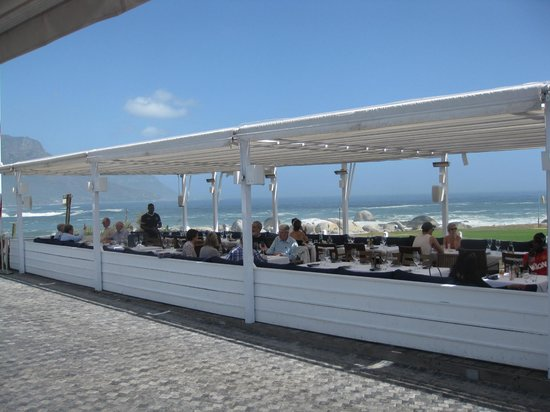The Bungalow: The sea front terrace
