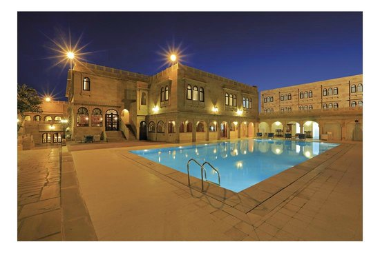 Swimming pool picture of hotel rang mahal jaisalmer - Jaisalmer hotels with swimming pool ...